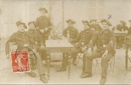 CHASSEURS ALPINS . VILLEFRANCHE SUR MER . - War 1914-18