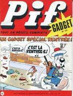 Pif Gadget N°133 - Teddy Ted - Rahan - Pif Gadget