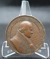 0198 - MÉDAILLE PAPALE - PIE IX - 1871 - L. Penin à Lyon - Bronze - Other