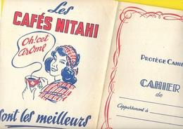 Rare Protège Cahier Cafés NITAHI - Protège-cahiers