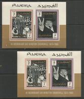 FUJEIRA - MNH - Famous People - Winston Churchill - Perf. + Imperf. - Sir Winston Churchill