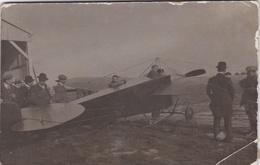 Photo Sur Carton:  Monoplan Nieuport à Villacoublay En 1912 Format 8,5 X 13 - Aviazione