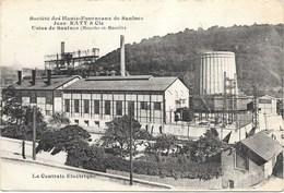 Saulnes NA1: Société Des Hauts-Fourneaux De Saulnes Jean Raty & Cie. Usine De Saulnes. La Centrale Electrique - Otros Municipios