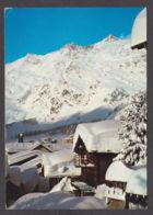 110491/ SAAS-FEE, Täschhorn Und Südlenzspitze - VS Valais
