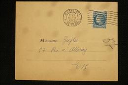 1.30 Ceres Seul Sur Invitation Vernissage Expo Pierre Bonnard 13/5/47 Voir Dos - Marcophilie (Lettres)