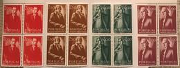 """POR#2920-Set Of 4 Blocks Of 4 MNH Stamps - """"Músicos Portugueses"""" - Portugal - 1974 - Blocs-feuillets"""