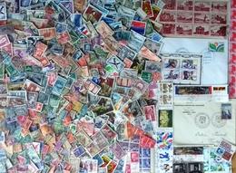 France, Lot De 450 Timbres Principalement Oblitérés Et Semi-modernes - Stamps