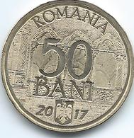 Romania - 50 Bani - 2017 - 10th Anniversary Of EU Accession - Romania