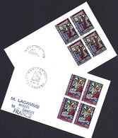 Luxembourg  -  Lettre  - 1972  -  Timbres Caritas - Luxembourg