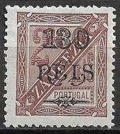 Zambezia – 1903 King Carlos Surcharged - Zambèze