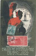 MILANO - INAUGURAZIONE DEL SEMPIONE ESPOSIZIONE INTERNAZIONALE MILANO 1906 APRILE NOVEMBRE (AVEC VIGNETTE) - Milano (Milan)