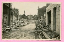 Lisieux (1944 Certainement) Rue  Bordeaux Boursin (noté Au Dos )  Carte Photo - Lisieux