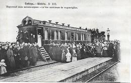 RUSSIE - SIBERIE - N° 102 - La Vue Extérieure Du Wagon-Eglise - - Russia