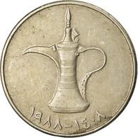 Monnaie, United Arab Emirates, Dirham, 1988, British Royal Mint, TTB - Emirats Arabes Unis