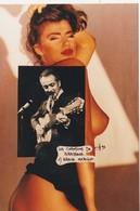 CPM Les Chansons De G. BRASSENS N°1  Brave Margot Erotisme Nude Nu Artistique Photo-montage Tirage Limité (2 Scans) - Zangers En Musicus