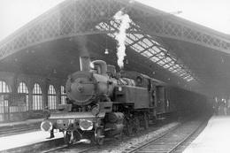 Paris-Bastille. Locomotive 131 TB. Cliché Jacques Bazin. 13-05-1960 - Trains