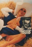 CPM Les Chansons De G. BRASSENS N° 6 La Légende De La Nonne Erotisme Nude Nu Artistique Photo-montage Tirage Limité - Singers & Musicians