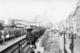Paris-Bel-Air. Locomotive 131 TB 7. Cliché Jacques Bazin. 27-04-1957 - Trains