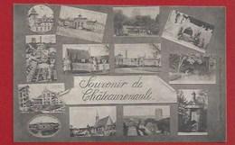 37 - CHATEAURENAULT - Souvenir Multivues -  Cliché Rare - 1922 - France