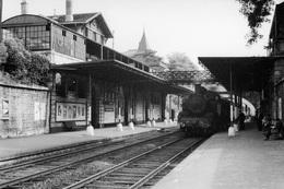 Fontenay-sous-Bois. Locomotive 131 TB 19. Cliché Jacques Bazin. 31-08-1955 - Trains