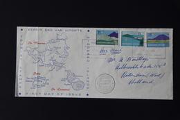 D(VEI) ++ NEDERLANDSE ANTILLEN  LETTER / FDC - Curaçao, Antilles Neérlandaises, Aruba
