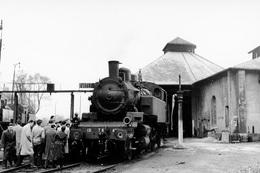 Dépôt De Nogent-Vincennes. Locomotive 131 TB. Cliché Jacques Bazin. 13-04-1957 - Trains
