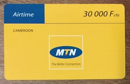 CAMEROUN MTN AIRTIME CAMEROON RECHARGE GSM 30.000 FCFA SANS CODE PAS TELECARTE CARTE TÉLÉPHONIQUE PRÉPAYÉE - Camerún