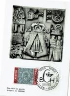 FDC 1963 Sculpteur  O Jespers - 1961-70