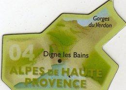 Magnets Magnet Le Gaulois Departement Tourisme France 04 Alpes De Haute Provence - Tourismus