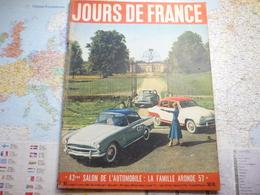 Jour De France N°99 6 Octobre 1956 43-e Salon De L'automobile : La Famille Aronde 57 / Maurice Chevallier / Margaret - Gente