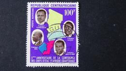 Central African Republic - 1964 - Mi:CF 58, Sn:CF C19, Yt:CF PA27 O - Look Scan - República Centroafricana