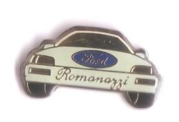 V95 Pin's Garage Ford Romanazzi SA à METZ  Moselle Achat Immédiat - Ford