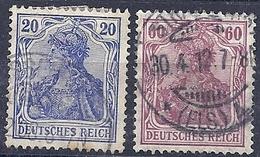 200034654  ALEMANIA  YVERT   Nº  85/90 - Usados
