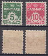 Dänemark Denmark Mi# 63-64 * Mint Numbers 1912 - 1905-12 (Frederik VIII)