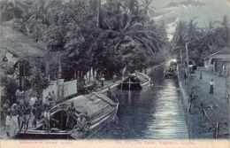 Sri Lanka - Negombo - The Canal - SEE POSTMARK - Publ. Andrée 117 - Sri Lanka (Ceylon)