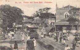Sri Lanka - COLOMBO - Pettah And Town Hall - Publ. Sadoon 131 - Sri Lanka (Ceylon)