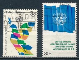 °°° ONU NEW YORK - Y&T N°259/61 - 1976 °°° - New-York - Siège De L'ONU