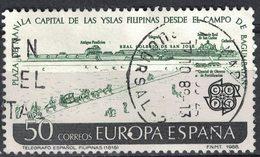 Espagne 1988 Oblitéré Used Place De Manille Capitale Des îles Philippines Depuis La Campagne De Bagumbayan SU - 1931-Aujourd'hui: II. République - ....Juan Carlos I