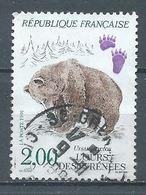 France YT N°2721 L'ours Des Pyrénées Oblitéré ° - Gebraucht