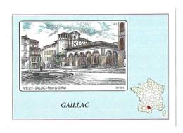 Gaillac Place Du Griffoul Yves Ducourtioux N° 81216 - Gaillac