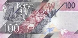 Kenya P.new  100  Shilings 2019 Unc - Kenia