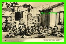 ALGER, ALGÉRIE - ORPHELINAT SAINT-CHARLES - L'ANNÉE DE LA GRANDE FAMINE 1866-1868 - ANIMÉE D'ENFANTS - - Alger
