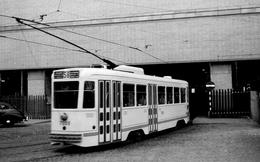Bruxelles-Gare Du Midi. Tramway Ligne 58. Cliché Jacques Bazin. 21-09-1954 - Tramways