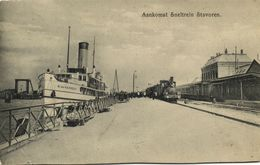 Nederland, STAVOREN, Aankomst Sneltrein (1910) Ansichtkaart - Stavoren
