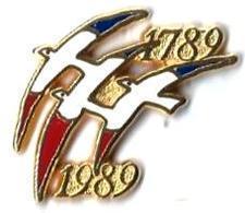 AB - B7 - BICENTENAIRE DE LA REPUBLIQUE - 1789-1989 - Verso : ARTHUS BERTRAND - Arthus Bertrand