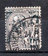 MONACO -- Timbre Perforé Perfin Luchung--  40 C. Prince Albert 1er  Bleu Sur Rose   --  C N  - 12 20   Indice 4 - Variétés