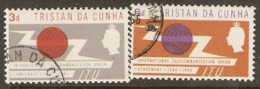 Tristan Da Cunha   1965  SG  85-6  I.T.U.    Fine Used - Tristan Da Cunha