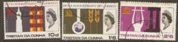 Tristan Da Cunha   1966  SG  101-3  UNESCO   Fine Used - Tristan Da Cunha