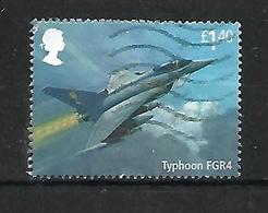 GB 2018 RAF CENTENARY TYPHOON FGR4 AIRCRAFT - 1952-.... (Elizabeth II)