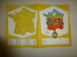 Tracteur RENAULT E22, Motoculture Serre, ORANGE (84), Protège-cahier Ancien, Ref 1655, ; PC 01 - Carte Assorbenti